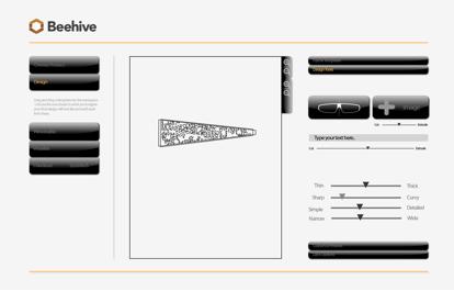 Beehive design tool