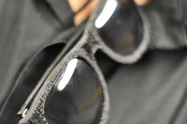 Beehive printed glasses
