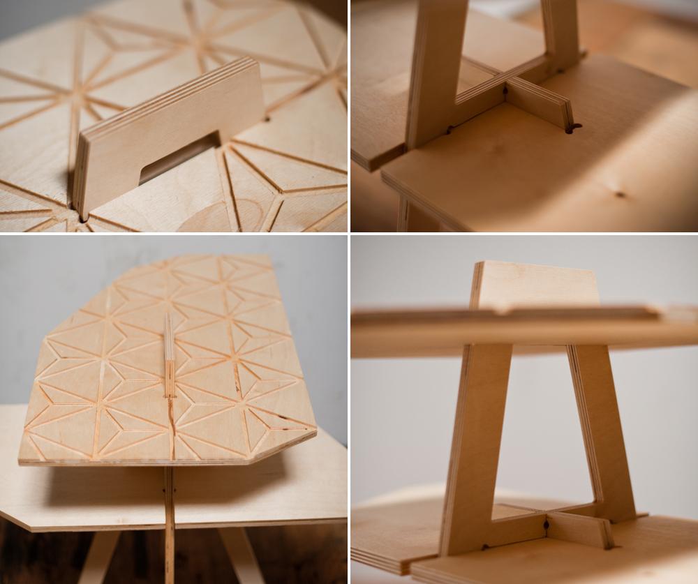 Jewel Inspired CNC Cut Furniture