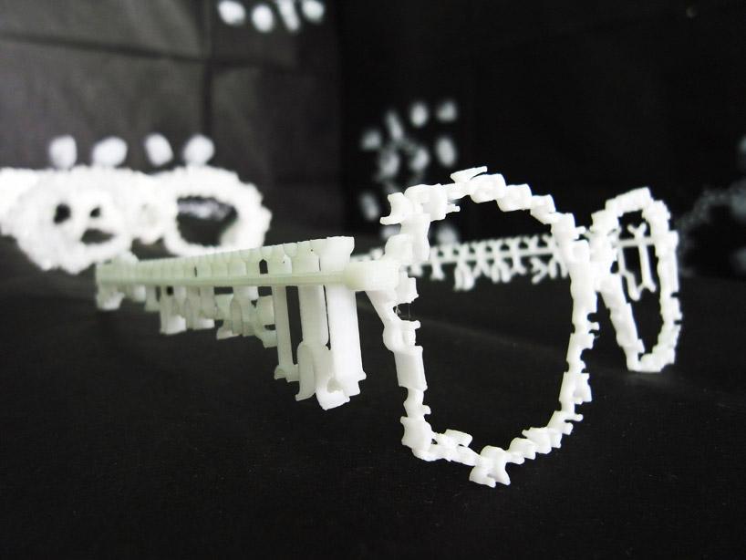 3D printed sugar glasses