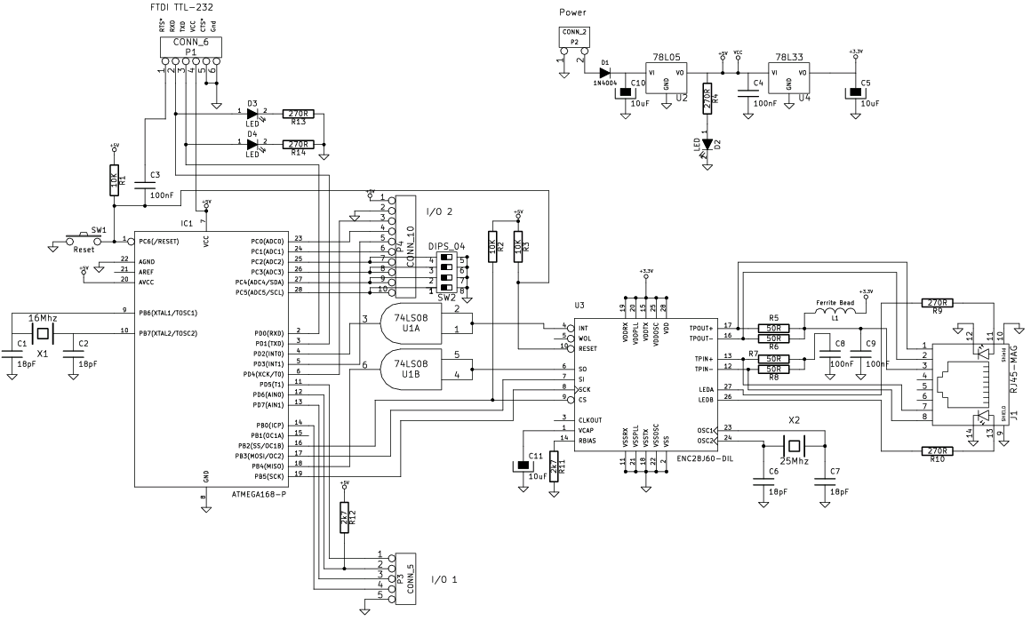 Real Time Clock PCF8583 - avrprojects