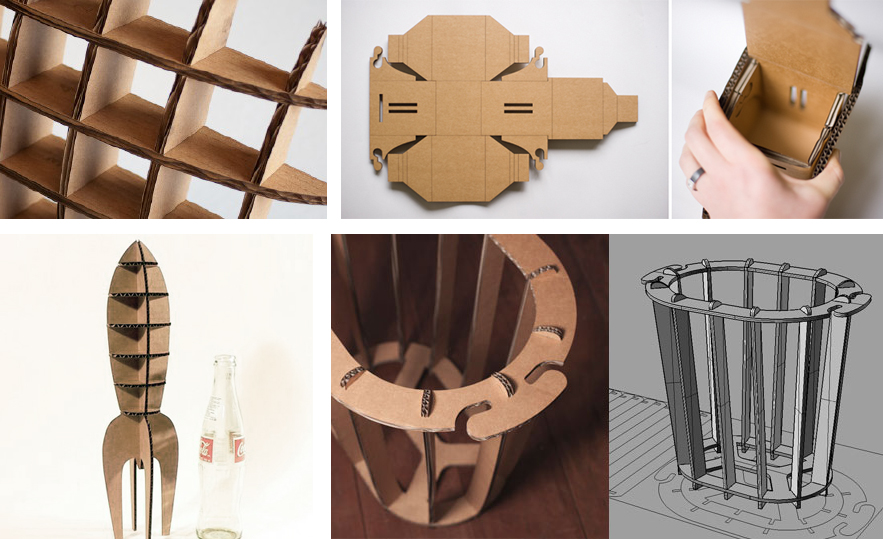 6 Resources To Get You Started On A Lasercut Cardboard Project