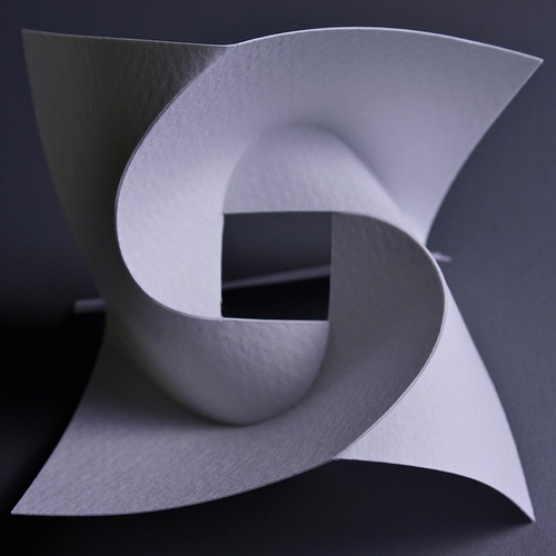Curved folding