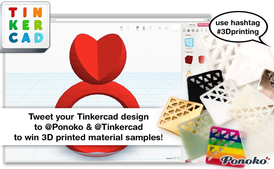 Design Something W The New Tinkercad To Win A Pack Of 3d