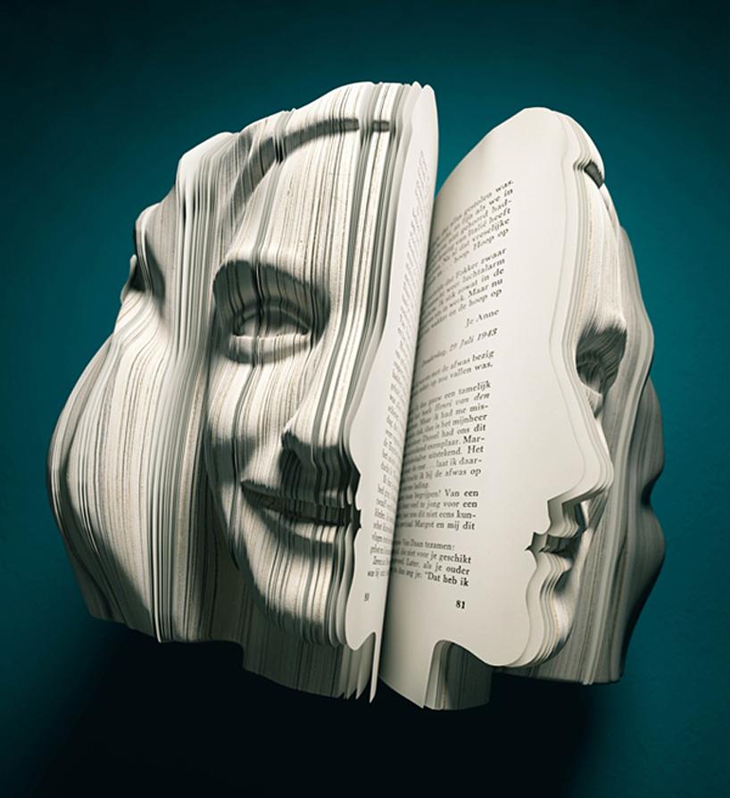 Anne Frank 3D book
