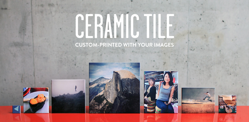 Ceramic Tiles Printed With Your Images Or Patterns