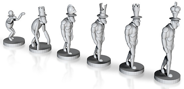 Evolution of chess