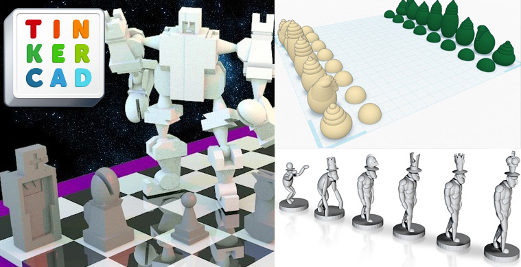 Tinkercad chess design contest