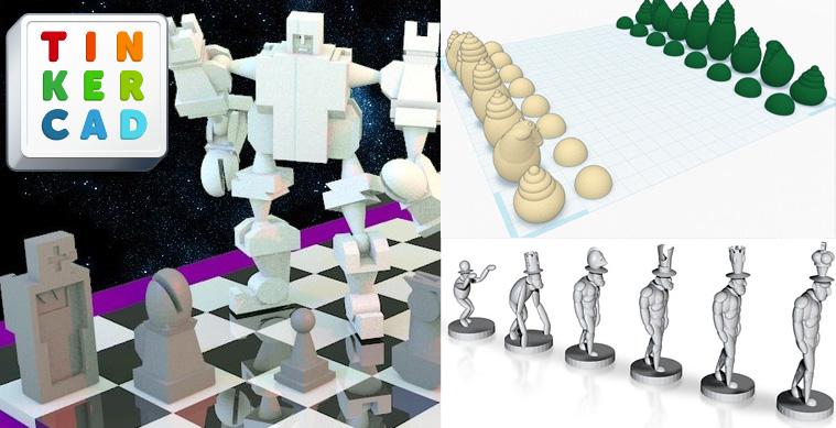 Tinkercad chess design contest