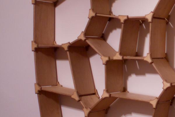 Voronoi shelf