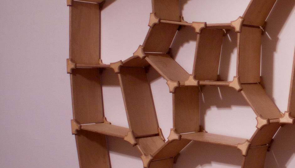 Voronoi shelf