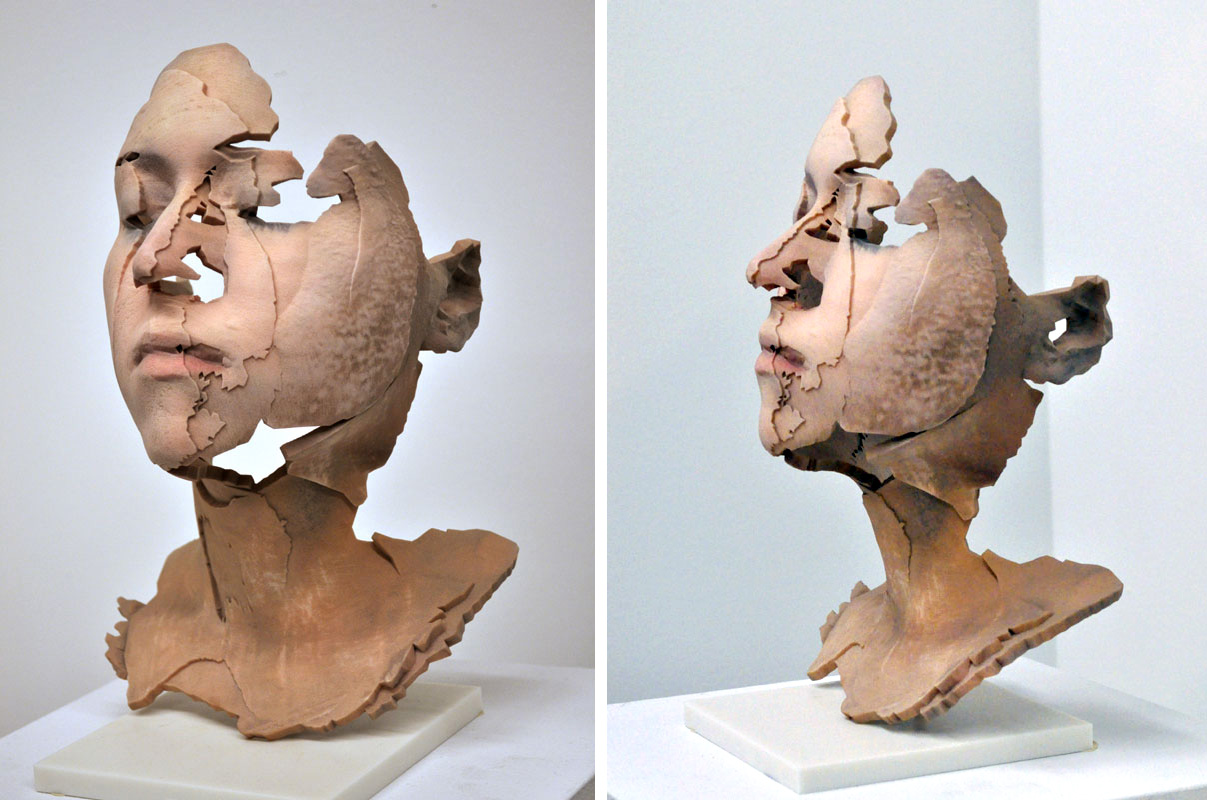 Portrait sculpture an artistic tradition carried on with for 3d art sculpture ideas