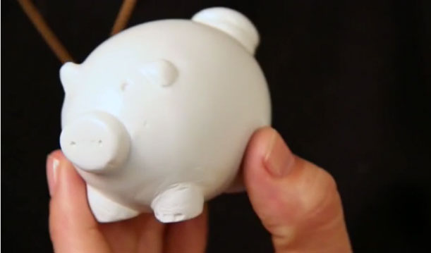 3D printed pig from MakerBot TV S02E09