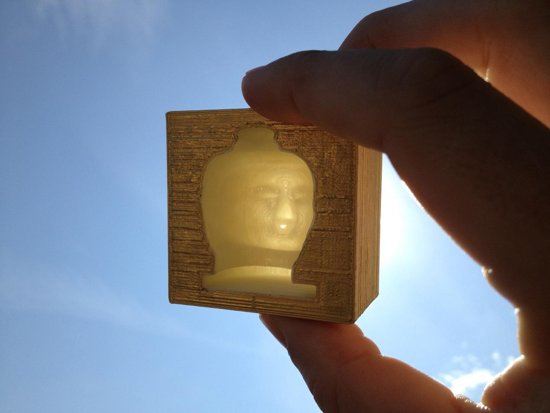 Buddha Box by David Hirmes
