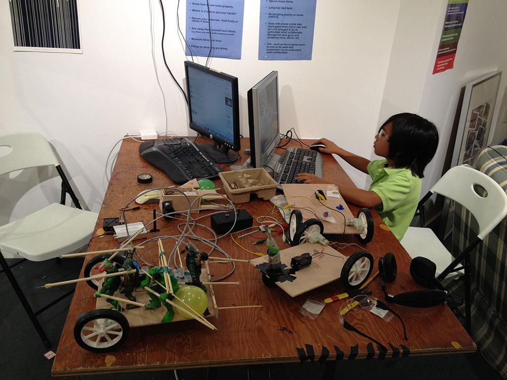 Maker Kids robots