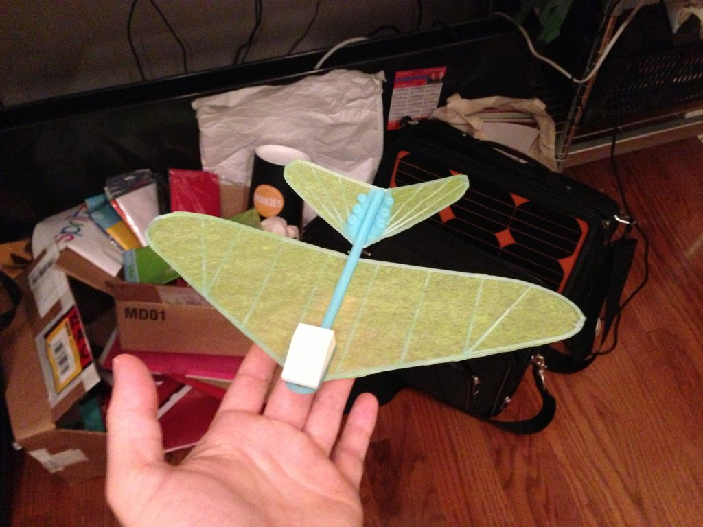 how to make a paper glider