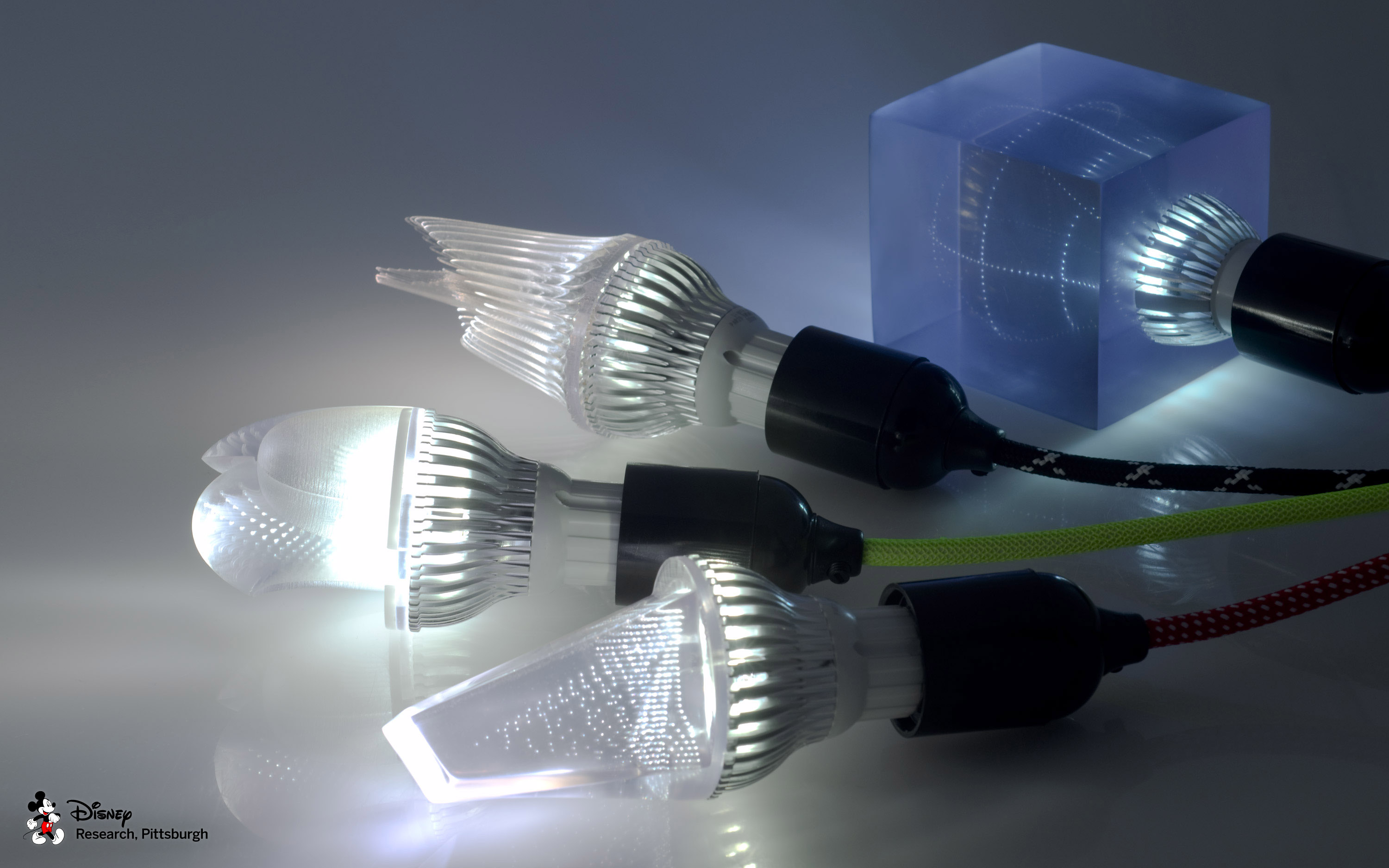 Printed Optics by Disney Research (Light bulb set)