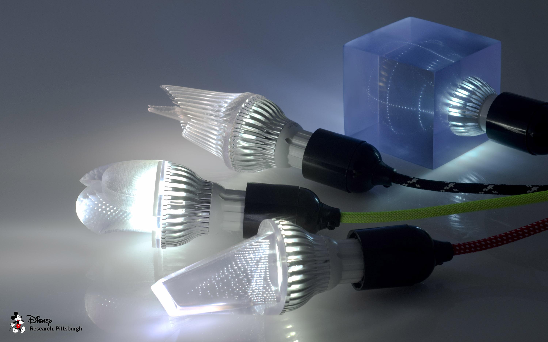 Printed Optics by Disney Research (Light bulb set)