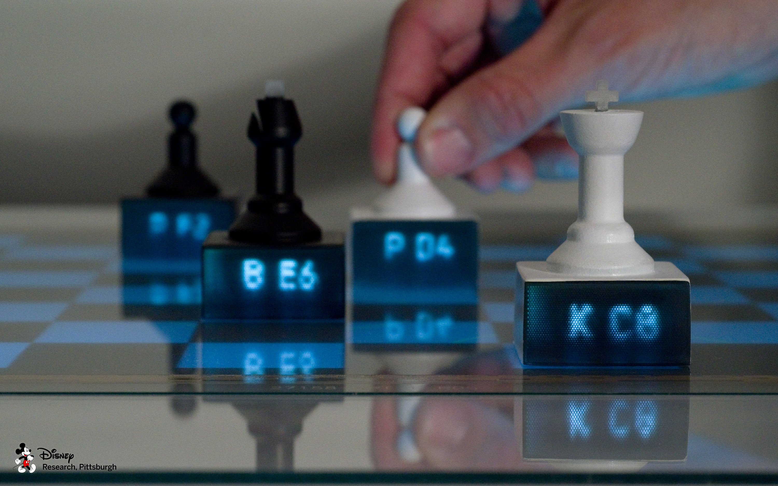 Printed Optics by Disney Research (Chess displays)