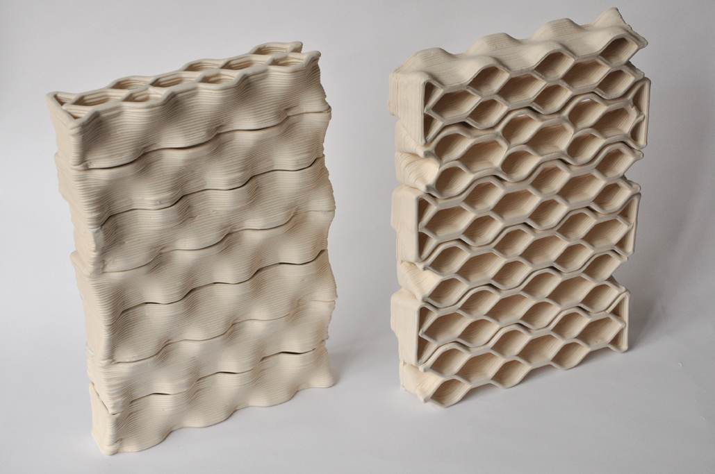 Honeycomb brick
