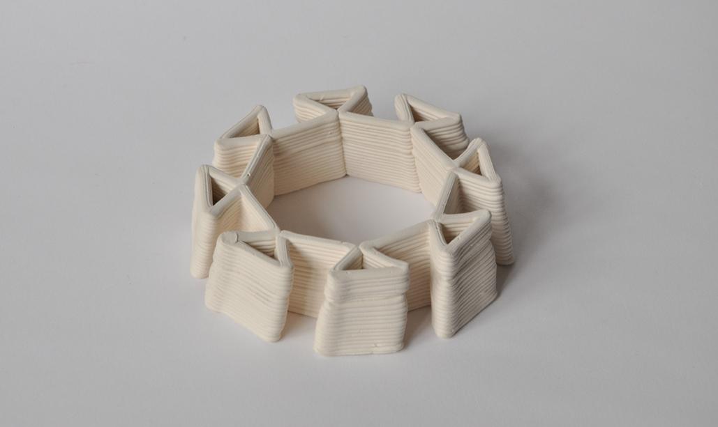 Ribbed brick