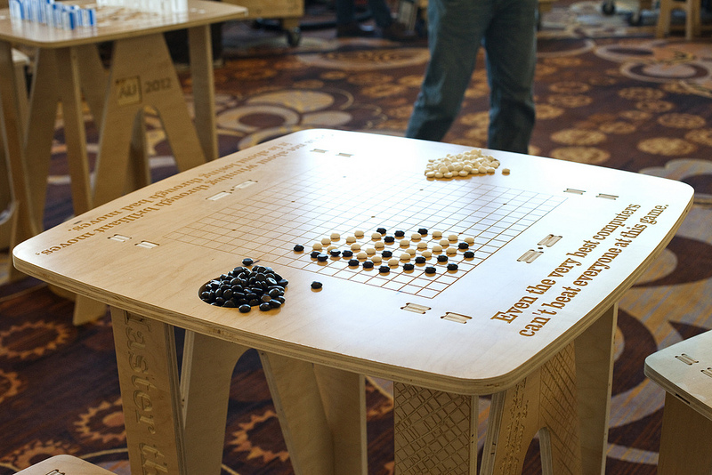 Cnc Router Table >> CNC game tables and stools for Autodesk University