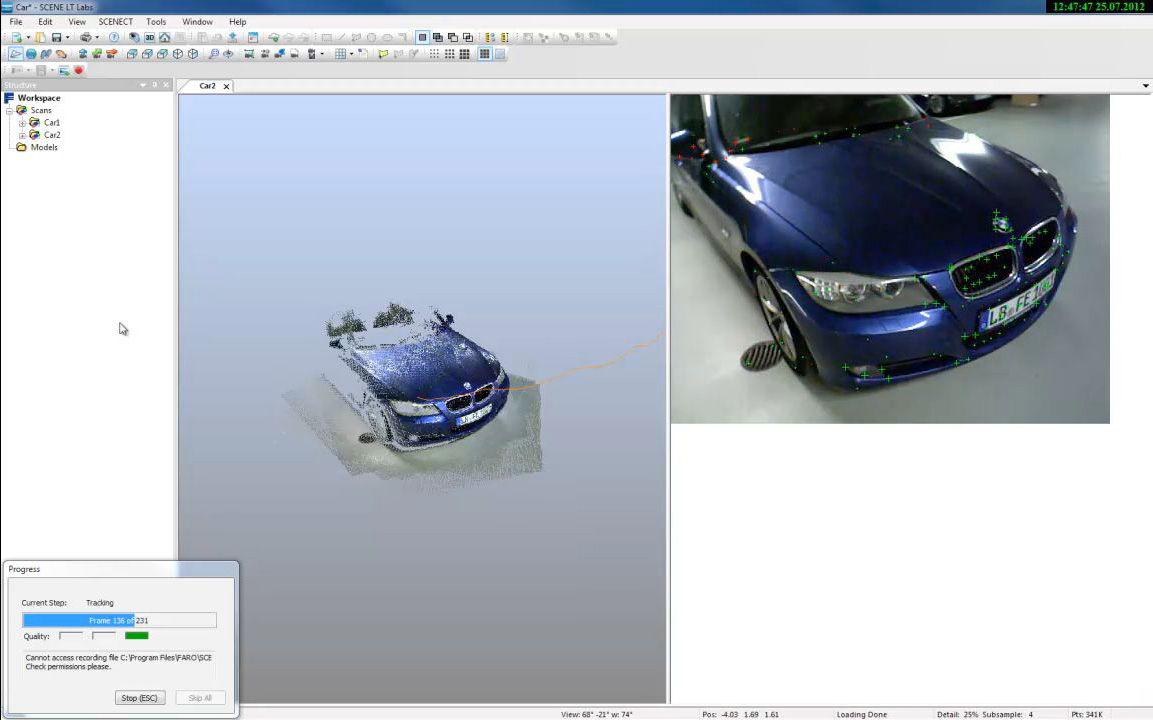 Free app turns Microsoft Kinect into 3D scanner
