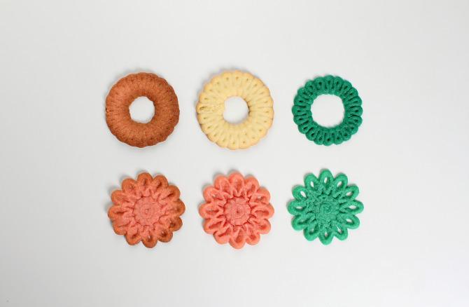 3D printed cookies