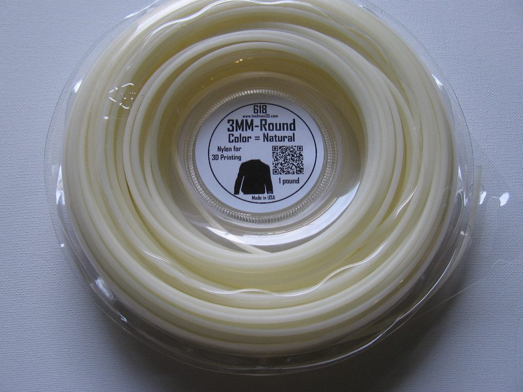 Nylon filament made by Taulman 3D