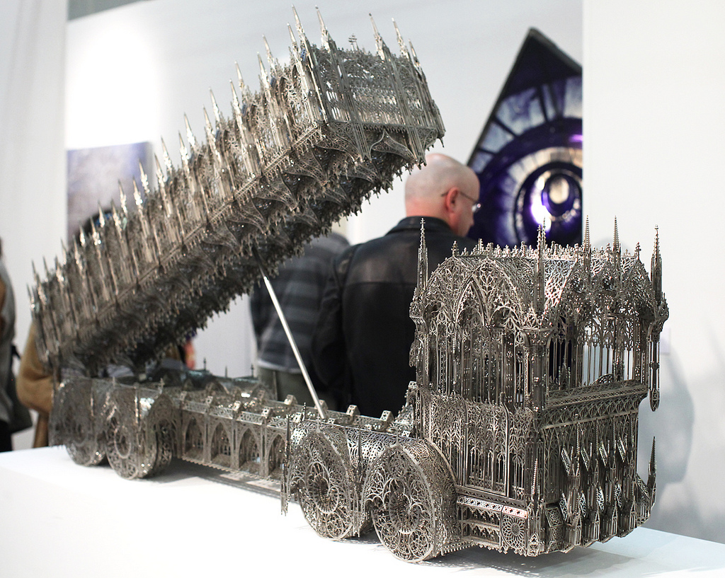 The Ten Coolest Things Done With Laser Cutting In 2011