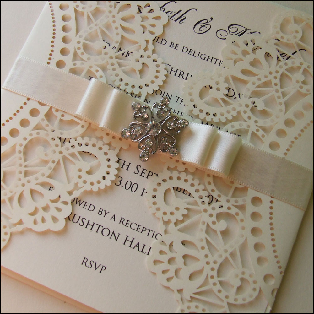 Laser Cut Wedding Invitations 29 Beautiful Above is a laser