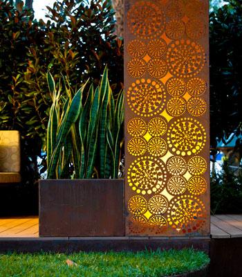 The patterns of laser cutting ponoko ponoko for Garden design tv show