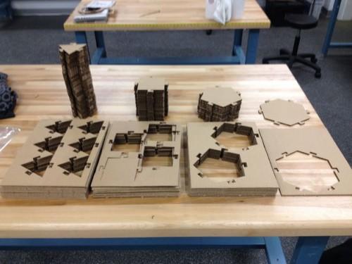 2plex Laser Cut Construction Kit