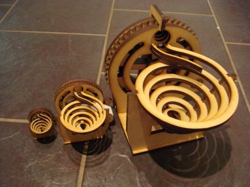 Laser Cut Marble Machines