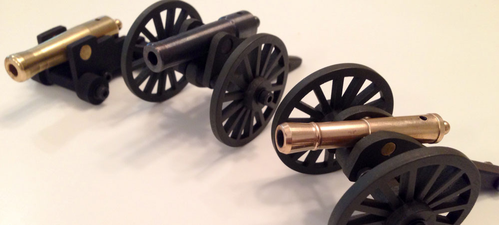 The Inspiration Behind His Miniature Civil War Cannons