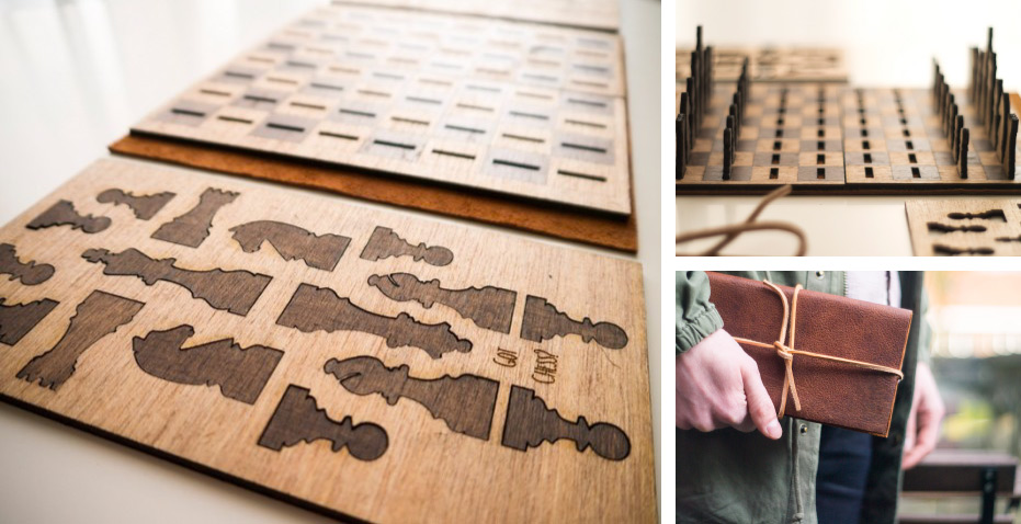 creative promotional product ideas - laser cut travel games