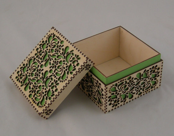 What 39 s in the laser cut box ponoko ponoko for Laser cut wood box template