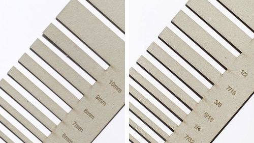 how to cut cardstock for cards