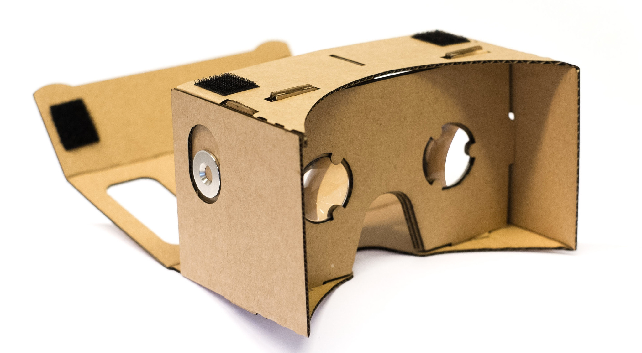 cardboard VR glasses