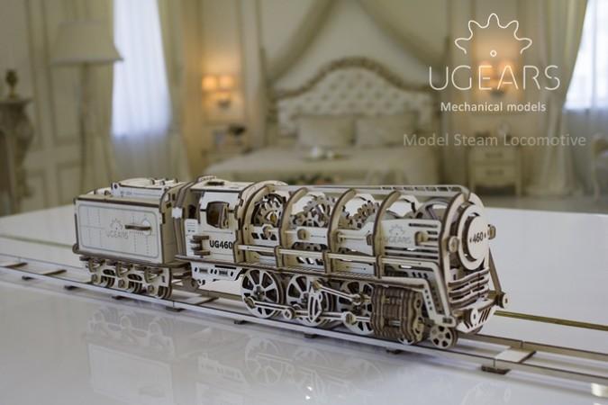 ugears laser cut loco