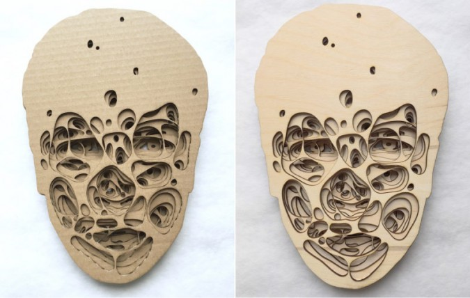 Introspective Laser Cut Art