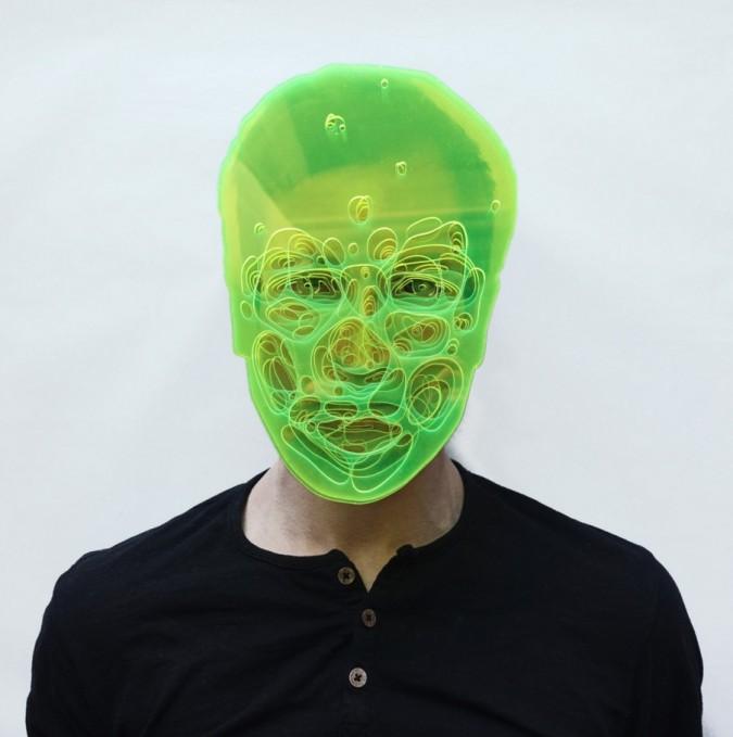 Adno laser cut portrait acrylic