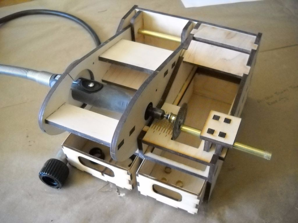 How To Make A Laser Cut Dremel Chop Saw