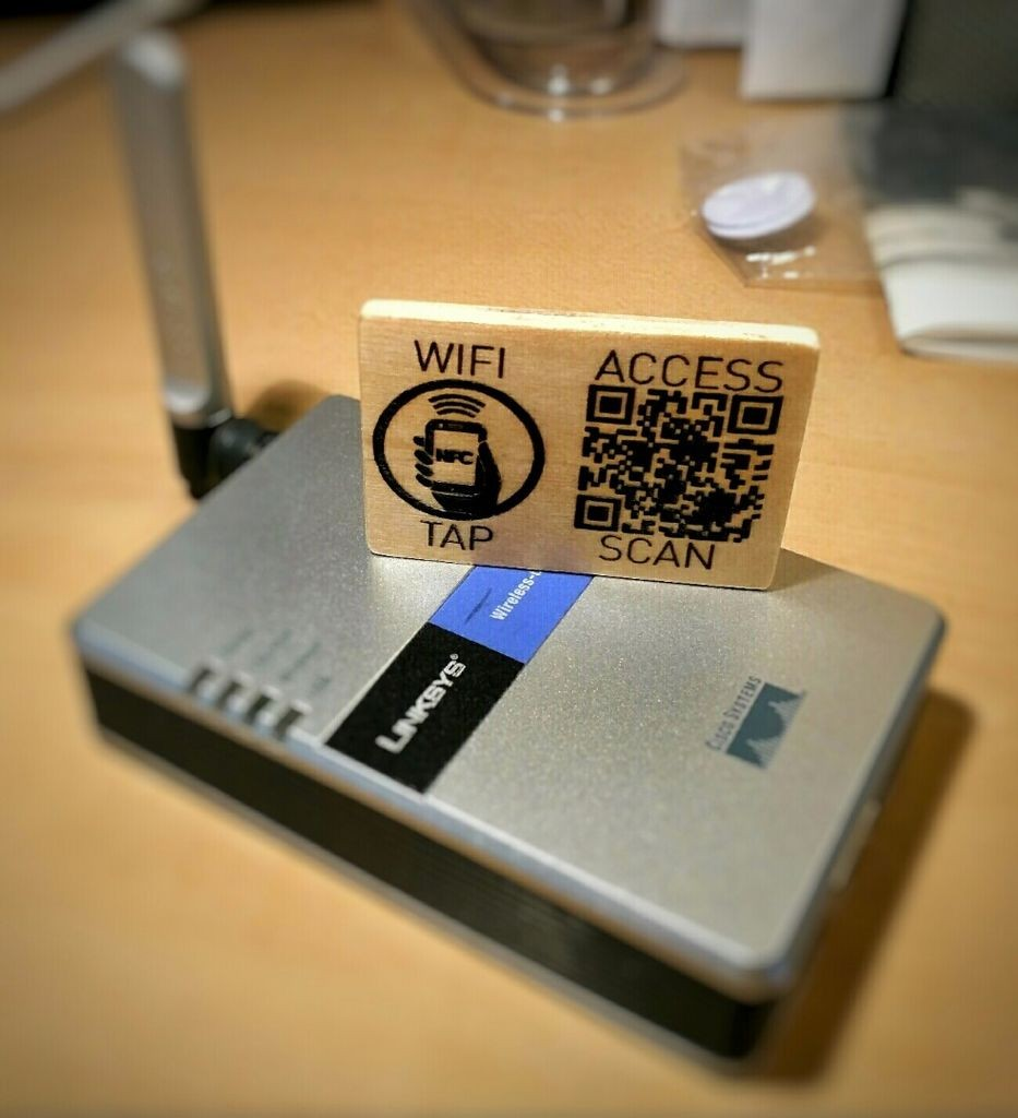 creative promotional product ideas - laser etched QR codes