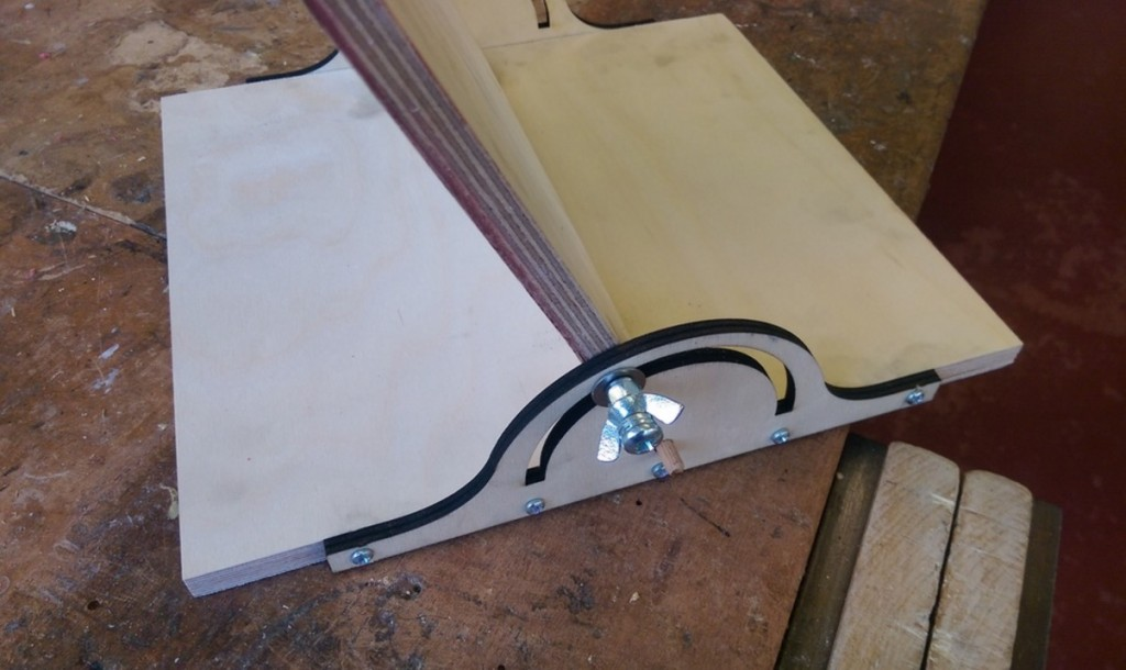 laser cut acrylic bending jig