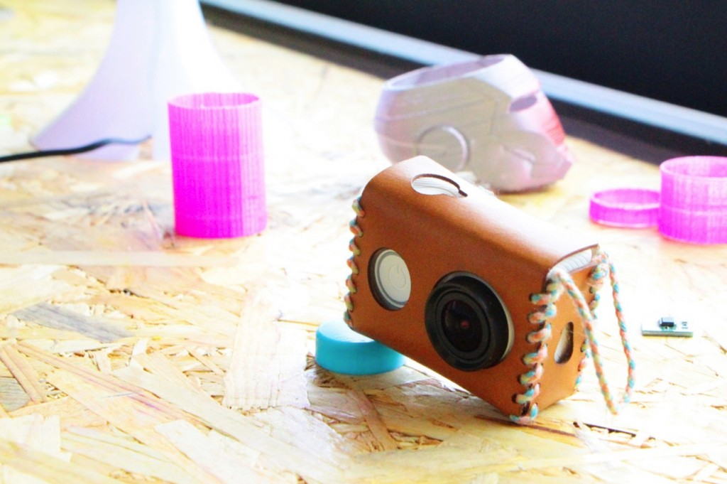 laser cut action camera case