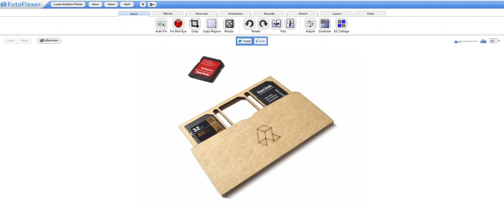 FotoFlexer - Laser Cut Product Photo Editing