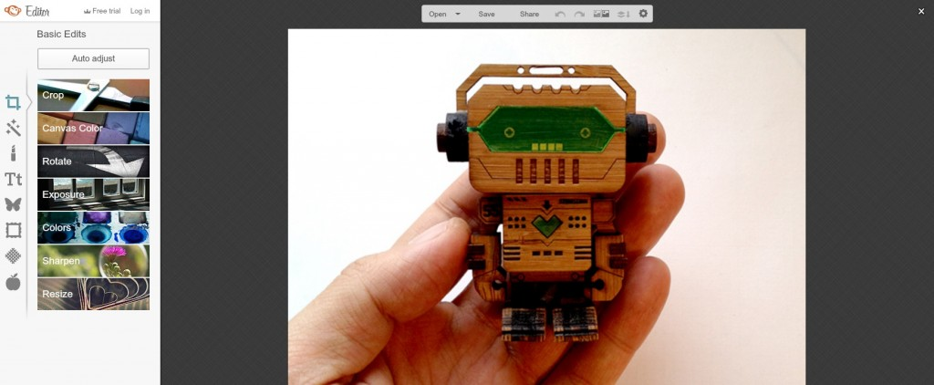 PicMonkey - Laser Cut Product Photo Editing
