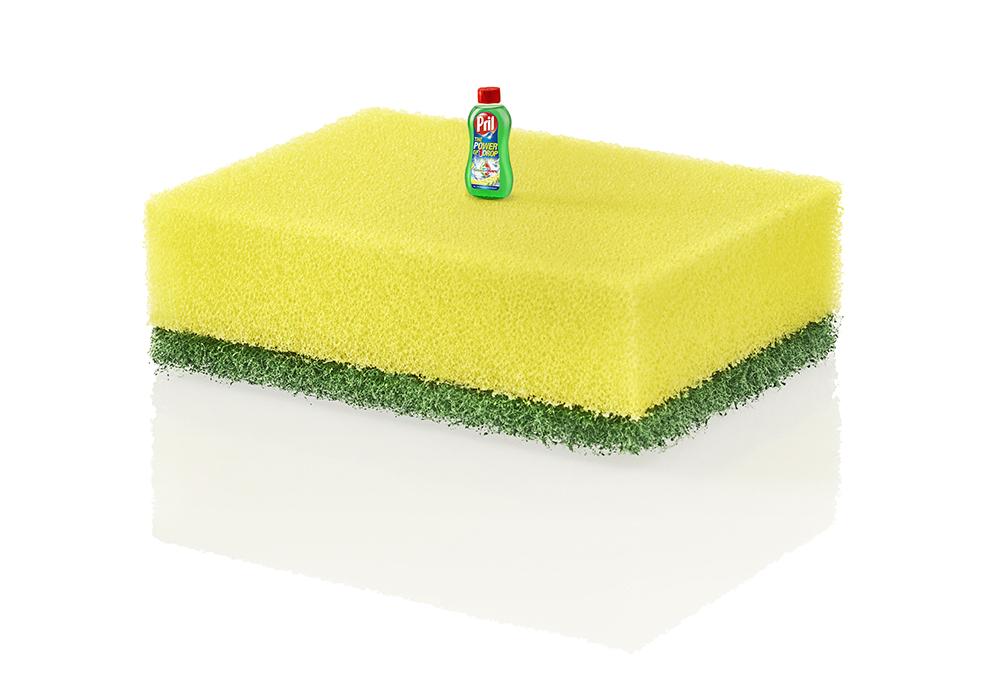 pril-single-drop-bottle-on-sponge
