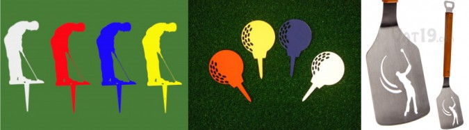 promotional product - laser cut golf ideas